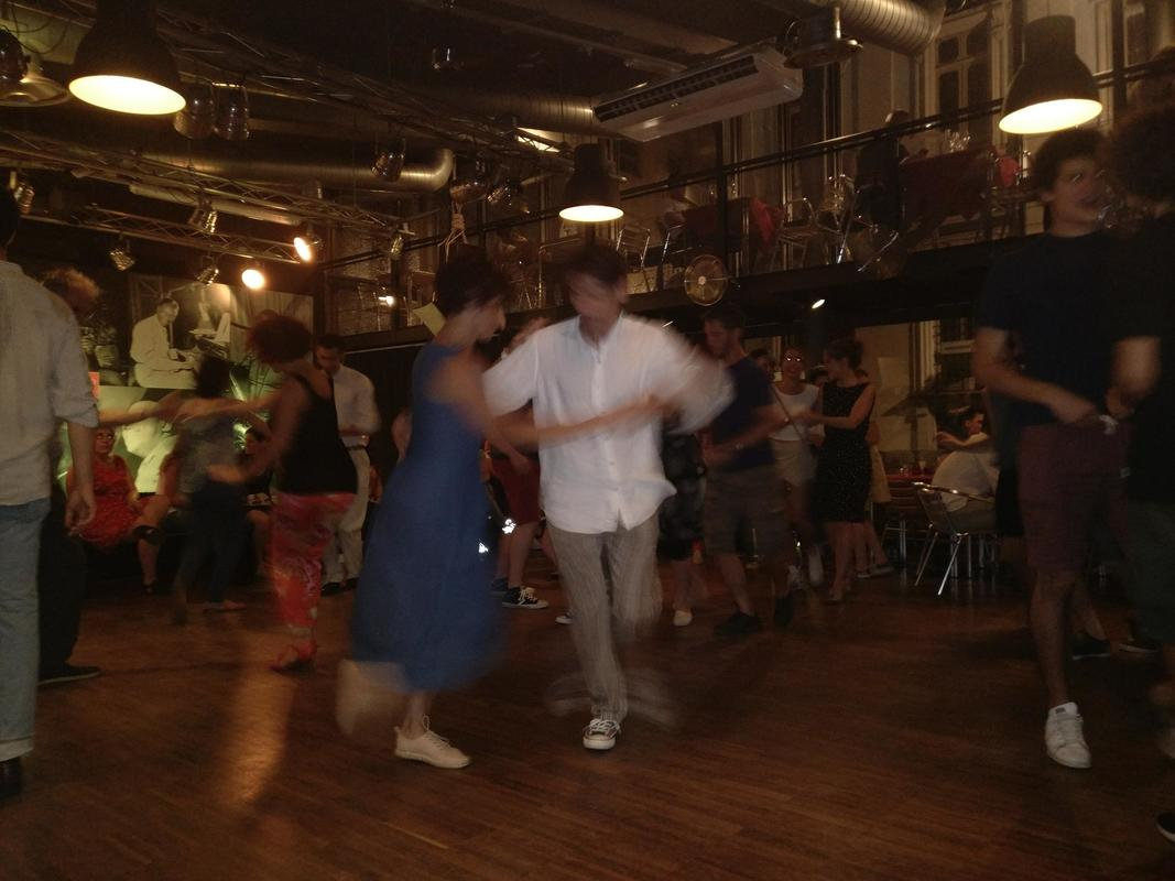 Swing Dancing in Turin